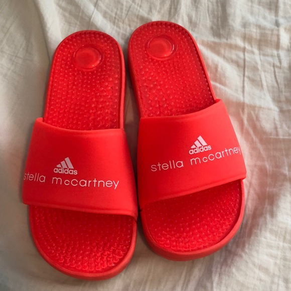 big sale 33bba f5134 Adidas by Stella McCartney Shoes - Adidas women s slides